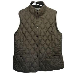 Eddie Bauer premium goose down Vest Women's Large